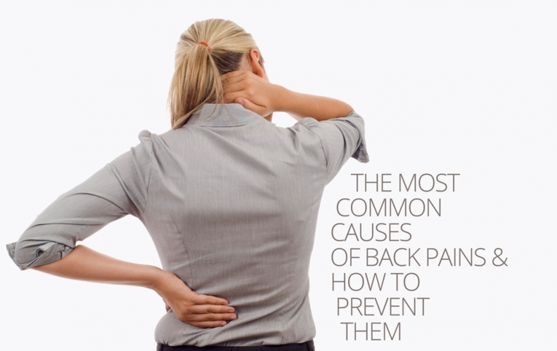 The most common Causes of Back Pains & how to Prevent them